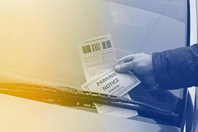 parking ticket debt